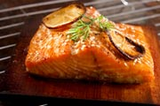 grilled salmon!